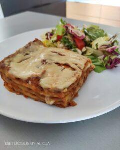 lasagne wegetarianska